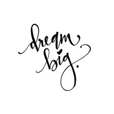 𝔻𝕣𝕖𝕒𝕞 𝕓𝕚𝕘 Never be afraid to chase your dreams and dream big. BUT be aware of the present moment at the sa. Positive Quotes, Motivational Quotes, Inspirational Quotes, Words Quotes, Life Quotes, Sayings, Qoutes, Phrase Insta, Brush Lettering