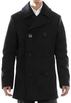 Boomerang Andy blackish navy peacoat, 1 995 kr (-50 %) Navy, Coat, Clothing, Jackets, Fashion, Tall Clothing, Down Jackets, Moda, Clothes