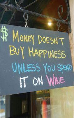 #winehappiness