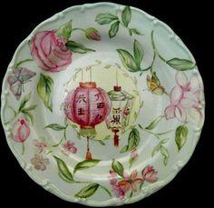Magia Pura Ceramic Plates, Decorative Plates, Vintage Plates, Plates And Bowls, Hand Painted Ceramics, Tea Pots, Antiques, Tableware, Glass