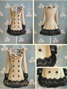 Wow! Great idea to upcycle my cream coat!