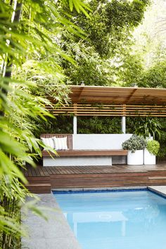 Outdoor Establishments is a Sydney based Landscape Architecture & Residential Garden Design firm also offering clients Landscape Construction, Professional Horticulture and Garden Maintenance. A complete Landscape service from concept to completion. Backyard Pool Designs, Backyard Garden Design, Backyard Ideas, Garden Path, Pool Ideas, Garden Ideas, Garden Privacy Screen, Backyard Privacy, Landscaping Around Pool