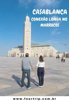 Casablanca: O que fazer numa conexão longa.  #casablanca #marrocos #africa Disneyland, San Francisco Ferry, Travel Inspiration, 1, Posts, Building, Blog, Travel Tips, Family Trips