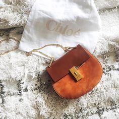 stylishblogger: My favorite @Chloe Drew bag in a new shade. #chloegirls #saksstyle by @songofstyle