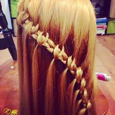 Saw this on hair4mybeans Wow, love this, a new braid to try.....