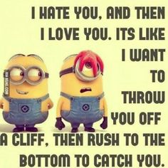 Minions Quotes Top 370 Funny Quotes With Pictures Sayings Funny Minion . Top 25 Minion Quotes and Sayings - Funny Minions Memes . Quotes Loyalty, Motivacional Quotes, Funny Quotes, Quotes Images, Thor Quotes, Alien Quotes, Qoutes, Poster Quotes, Amor Minions