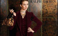 Ralph Lauren Fall 2012 campaign  Models: Valentina Zelyaeva + Kristina Romanova  Ph: Carter Berg  Stylist: Michel Botbol  Makeup: Susan Hous...