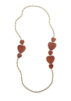 Wood You Be Mine Necklace | Mod Retro Vintage Necklaces | ModCloth.com - StyleSays
