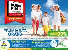 #LlegoElBuenFin aprovecha, recuerda que si reservas tu paquete del 14 al 17 participas en la rifa de un #ViajeGratis