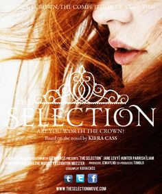 jcwaylnd: The Selection movie poster + my dream cast: Jane Levy as America Singer; Hunter Parrish as Maxon Schreave; Liam Hemsworth as Aspen Leger; Shailene Woodley as Marlee Tames; Leighton Meester as Celeste Newsome.