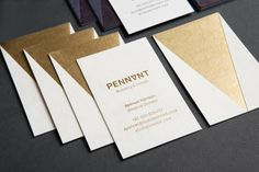 Good design makes me happy: Project Love: Studio Pennant Business Cards