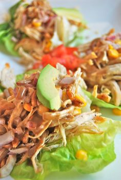 Villa Blanca's Butter Lettuce Cups with Grilled Chicken   The Divine Addiction