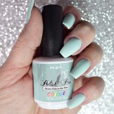 Mint Green Gel Polish Shade! Polish Pro - Better Fish In the Sea