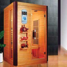 Komen de rillingen al weer van het gure weer ? Zoek de warmte op met onze Mica line infrarood sauna.  Voor meer informatie bezoek onze website: www.tuindeco.com,  of informeer bij één van onze wederverkopers bij u in de buurt.   Mica line infrarood sauna 2 • B125xD105xH190cm • 2 Persoons • Mica verwarming • Radio/CD/MP3 met afstandsbediening • Inbouw luidsprekers • Canadees hemlock interieur • Canadees hemlock exterieur • LED kleuren lichttherapie • 220/240V • Buitendisplay