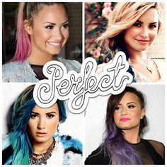 The Perfect Demi Lovato. Make your own Perfect collage! >>  http://slide.ly/collage/