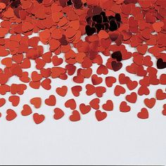 Descriptions Confetti Red Heart - Material : Paper - Size : 0.5 Oz. - Color : Red Features - Red Heart - Confetti Ships within 4 Business Days