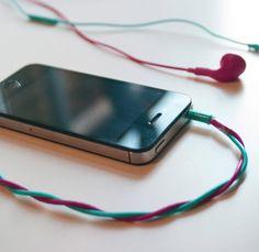 Tangled Earphones by Evangelos Lee Gicas - lifestylerstore - http://www.lifestylerstore.com/tangled-earphones-by-evangelos-lee-gicas/