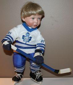 Toronto Maple Leafs Ashton-Drake Porcelain Collector Doll Titus Tomescu
