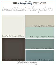 Lake house colors