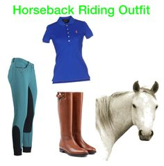 """""""Horseback Riding Outfit"""" by jaypearlz on Polyvore featuring Burberry, Polo Ralph Lauren and Natural Curiosities"""