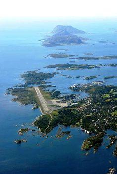 FRO - Florø Airport, Florø, Sogn og Fjordane, Norway.