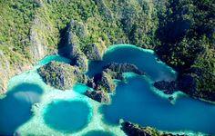 Twin Lagoons, Coron Busuanga, Philippines