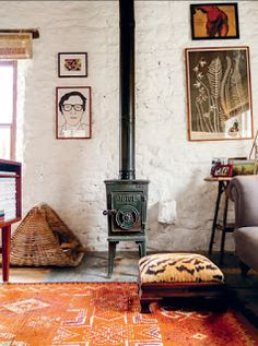 The home of Amanda Brooks on the Shed blog today.
