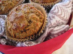 Morning Glory Muffins (nut free option)