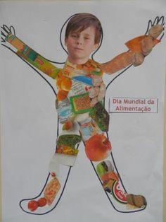 Resultado de imagem para atividades para conhecer grupo pre escolar Fun Classroom Activities, Teaching Themes, Interactive Activities, Classroom Fun, Preschool Activities, Preschool Food, Body Preschool, Preschool Boards, Crafts For Kids To Make
