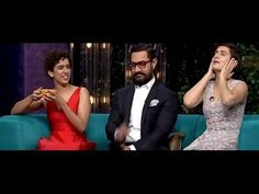 Aamir Khan,Sanya Malhotra and Fatima Sana Shaikh On Koffee With Karan S. Sanya Malhotra, Koffee With Karan, Aamir Khan, Bollywood, News, Youtube, Youtube Movies