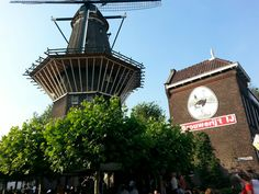 Brouwerij 't IJ in Amsterdam, Noord-Holland-  a small brewery in Amsterdam, Netherlands. It is located in a former bath house named Funen, next to the De Gooyer windmill. ALSO... allows smoking on the terrace