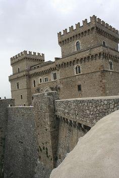 Castello Piccolomini - Celano, Abruzzo, Italy