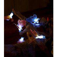 Garden Oasis 15ct Fiber Optic Butterfly Solar LED Light String at Sears.com