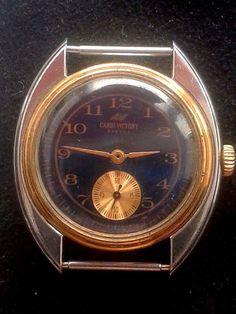 Rare Vintage Russian USSR Cardi Viktori(Samara) mecanical 2602 watch #CardiViktori