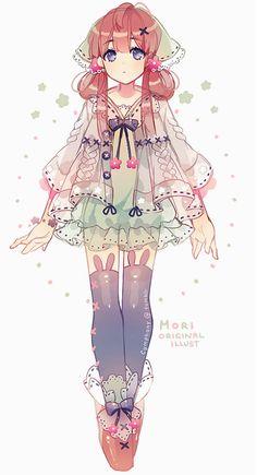 cute mori style!