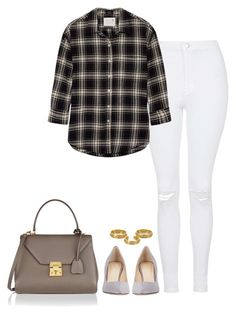 """710."" by pure-reticence ❤ liked on Polyvore featuring Topshop, R13, Barneys New York, Mark Cross and Arme De L'Amour"