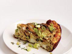 Sauteed mushrooms and leeks make this vegetarian frittata a hearty main. View Recipe:Mushroom, Leek, and Fontina Frittata