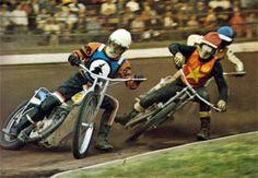 John Louis and Trevor Hedge Flat Track Motorcycle, Speedway Racing, Goodwood Revival, Motor Sport, Motorbikes, Legends, Motorcycles, British, Bicycle