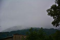Počasí nám moc nepřeje. Mlha, vítr.
