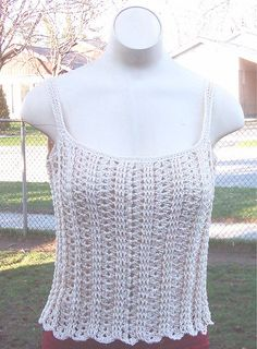 Sweetie Pie Cami  Free Pattern