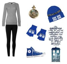 """Doctor Who"" by swlafangirl ❤ liked on Polyvore featuring art"