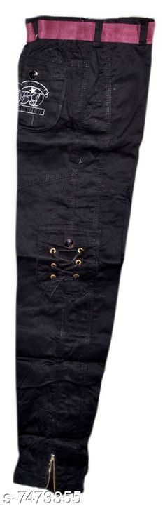 Jeans Boys cargo pants Fabric: Cotton Pattern: Solid Multipack: Single Sizes:  4-5 Years 5-6 years 6-7 years  7-8 years 8-9years- 9-10 years 10-11  (waist Size: 36 in) 11-12(waist  Size: 27 in) 12-13  (waist Size: 28in) Country of Origin: India Sizes Available: 2-3 Years, 3-4 Years, 4-5 Years, 5-6 Years, 6-7 Years, 7-8 Years, 8-9 Years, 9-10 Years, 10-11 Years, 11-12 Years, 12-13 Years   Catalog Rating: ★3.8 (985)  Catalog Name: Pretty Comfy Boys Jeans & Jeggings CatalogID_1202864 C59-SC1180 Code: 615-7473355-0231