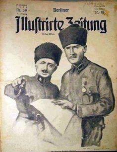 Berliner Illustrirte Zeitung gazetesinin 24 Eylül 1922 tarihli Kapağı.