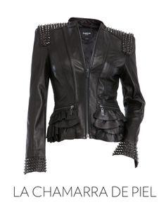 Añade un toque de piel a tu outfit de esta noche. La chamarra de piel: el look de Kate Moss (Via Glamour México)