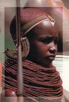 Kenya | Scanned postcard