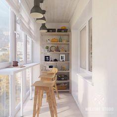 Terrazas de estilo por Мастерская дизайна Welcome Studio