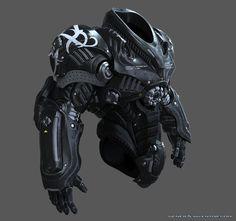 Gray armor