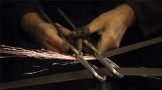 The Putter: A Meditative Video on the Art of Making Scissors by Hand  http://www.thisiscolossal.com/2014/07/the-putter-a-meditative-video-on-the-art-of-making-scissors-by-hand/