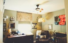 SUPER CUTE nursery - not super baby-ish and extremely cool.  Photo by ariel renae photography in Nashville.