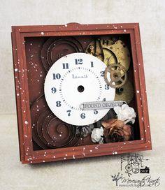 Meresanth Krafts: Zegarowy Shadowbox / Clockwork Shadowbox